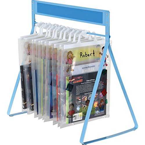 """Really Good Stuff Store More Sturdy Hang-Up Totes Rack, 20""""W by 12""""D by..."""