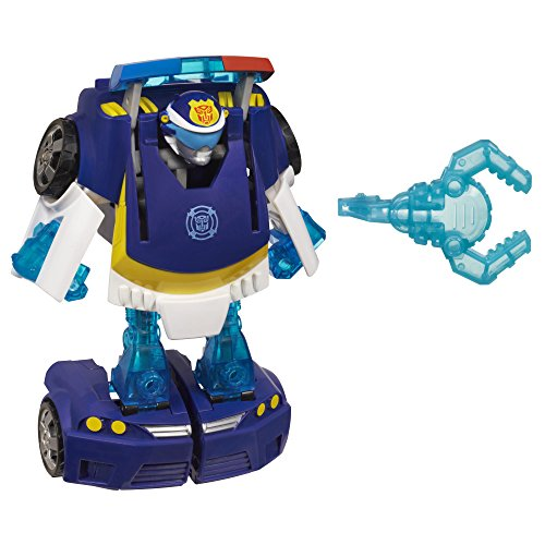 Playskool Heroes Transformers Rescue Bots Energize Chase the Police-Bot...