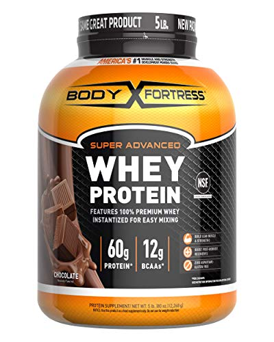 Body Fortress Super Advanced Whey Protein Powder(Gluten Free/Packaging May...
