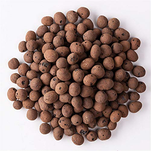 FondPets 6 Pounds Organic Expanded Clay Pebbles Hydroponics Rocks Grow...
