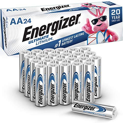 Energizer AA Lithium Batteries, World's Longest Lasting Double A Battery,...