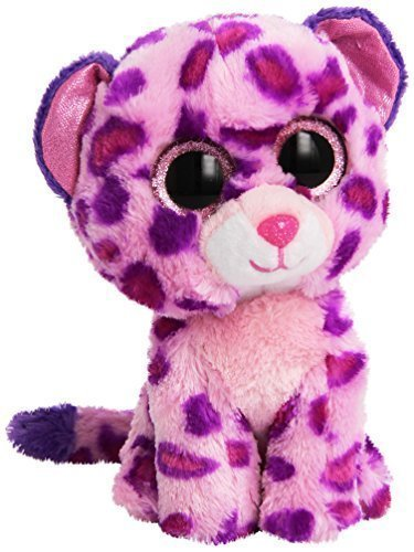 TY Beanie Boo Plush - Pink Leopard Glamour