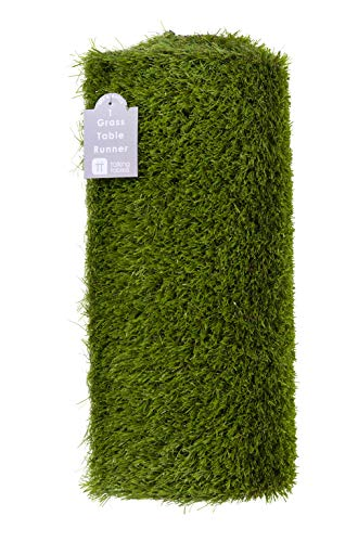 Talking Tables Indoor Reusable Fake Artificial Grass Table Runner-1.5m...