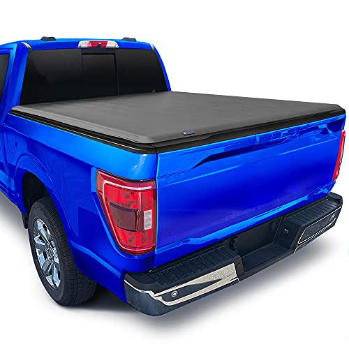 Tyger Auto T1 Soft Roll Up Truck Bed Tonneau Cover for 2009-2014 Ford F-150...