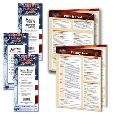 Family Law Legal Planning Kit - USA Legal Forms (Last Will and Testament,...
