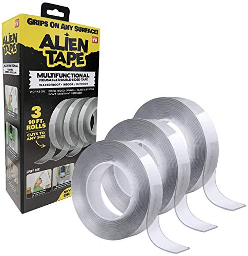 ALIENTAPE Nano Double Sided Tape, Multipurpose Removable Adhesive...