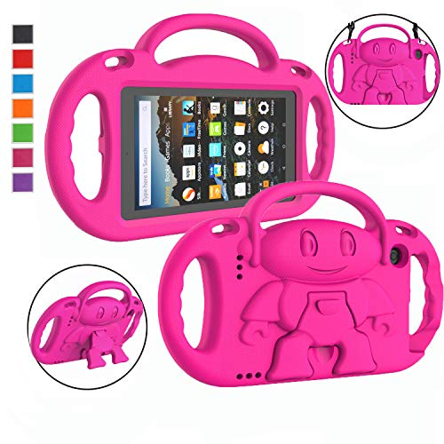 LTROP Kids Case for Amazon Kindle Fire 7 Tablet (9th Generation - 2019...