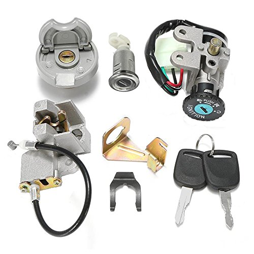 GY6 50cc Ignition Switch Key Lock Gas Tank Cap Set for Scooter Moped TaoTao...