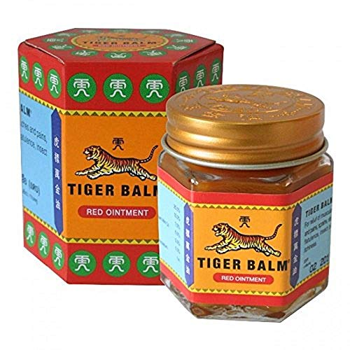 Tiger Balm Red Extra strength Herbal Rub Muscles Headache Pain Relief...
