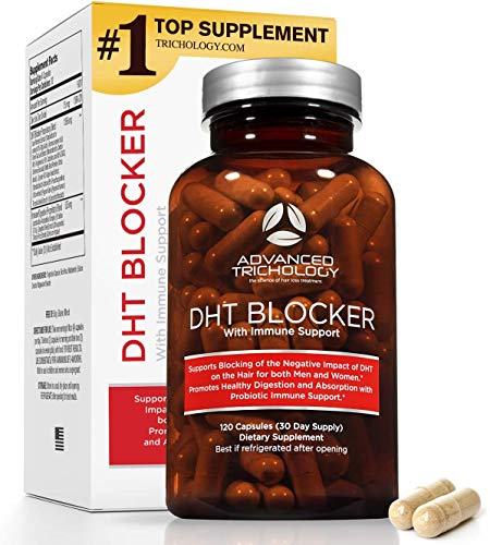 Advanced Trichology DHT Blocker with Immune Support - Hair Loss...