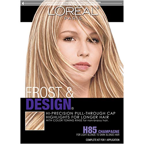 L'Oreal Paris Frost and Design Cap Hair Highlights For Long Hair, H85...