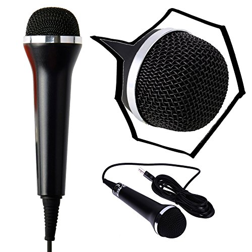 Gam3Gear Universal 10ft USB Wired Microphone Controller for PS4 Pro Slim...