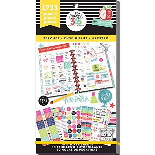 me & my BIG ideas Sticker Value Pack for Big Planner - The Happy Planner...
