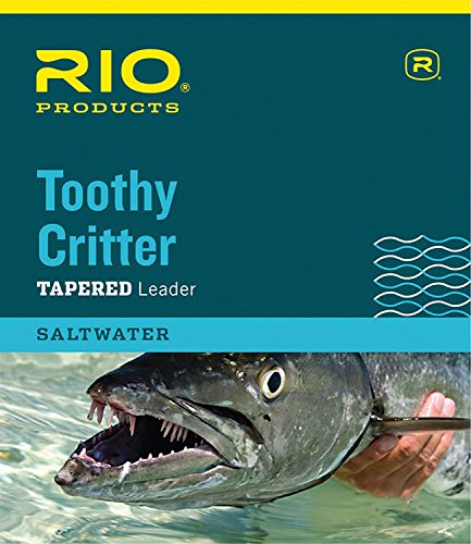 RIO Products Leaders Toothy Critter II 7.5' 30Lb Class 30Lb Stainless Wire...