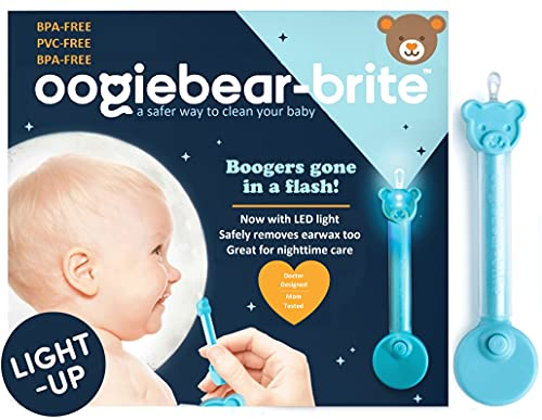 oogiebear Brite - Baby Nose Cleaner and Ear Wax Removal Tool. Baby Gadget...