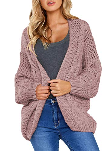 Dearlove Womens Cardigans Open Front Long Sleeve Chunky Cable Knit Sweaters...