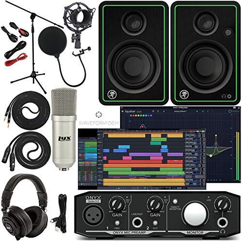 Mackie Onyx Artist 1-2 Audio Interface With Pro Tools First/Tracktion Music...