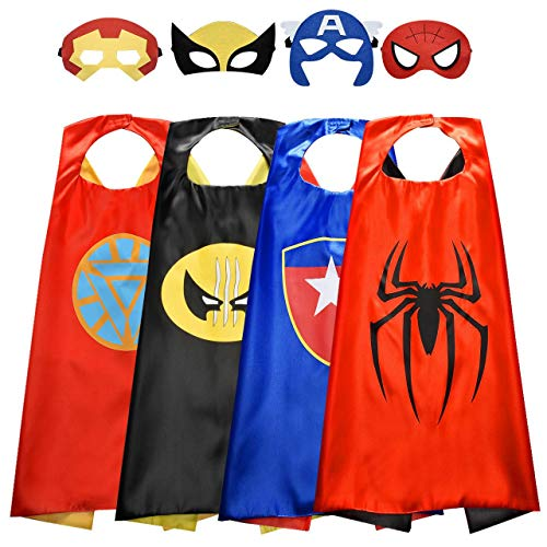 Roko Toys for 3-10 Year Old Boys, Superhero Capes for Kids 3-10 Year Old...