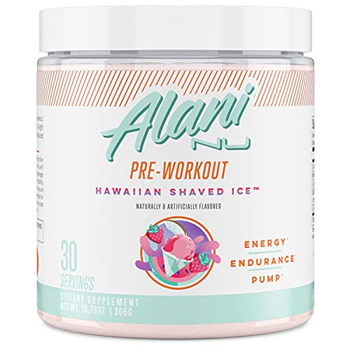 Alani Nu Pre-Workout Supplement Powder for Energy, Endurance, and Pump,...