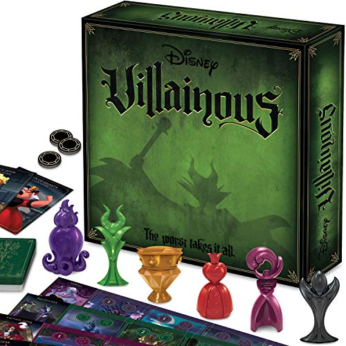Ravensburger Disney Villainous Strategy Board Game for Age 10 & Up - 2019...