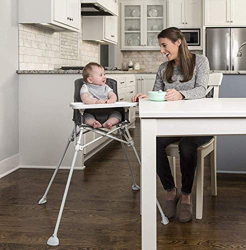 Regalo My High Chair Portable Travel Fold & Go Highchair, Indoor and...