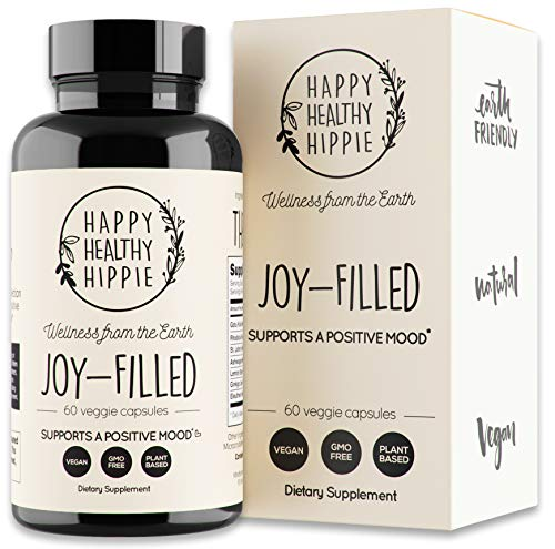 Joy-Filled   100% Plant-Based Supplement for Anxiety & Depression Relief  ...