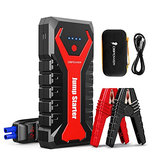 DBPOWER 2000A/20800mAh Portable Car Jump Starter (UP to 8.0L Gas/6.5L...