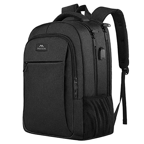 Business Travel Backpack, Matein Laptop Backpack with Usb Charging Port for...