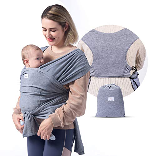 Momcozy Baby Wrap Carrier Slings, Easy to Wear Infant Carrier Slings for...