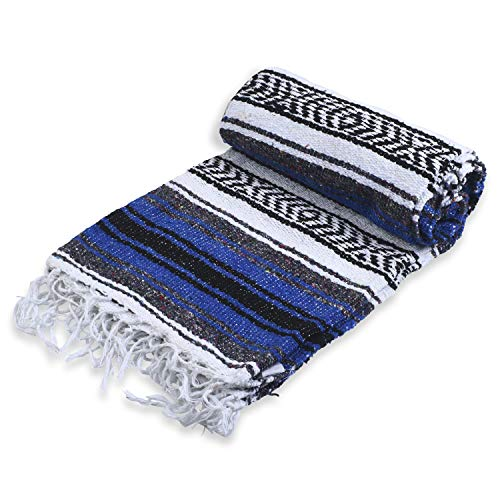 Andrew James Authentic Mexican Blankets - Traditional Handmade Woven Throw...