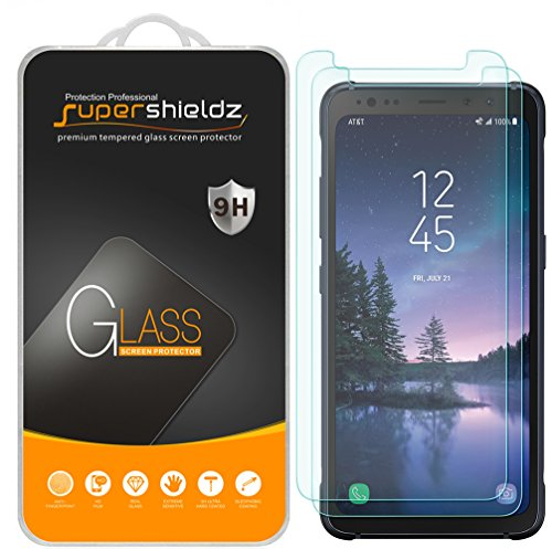 (2 Pack) Supershieldz Designed for Samsung (Galaxy S8 Active) (Not Fit for...