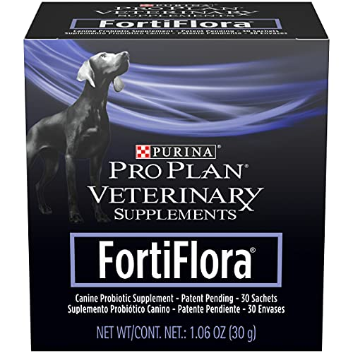 Purina FortiFlora Probiotics for Dogs, Pro Plan Veterinary Supplements...