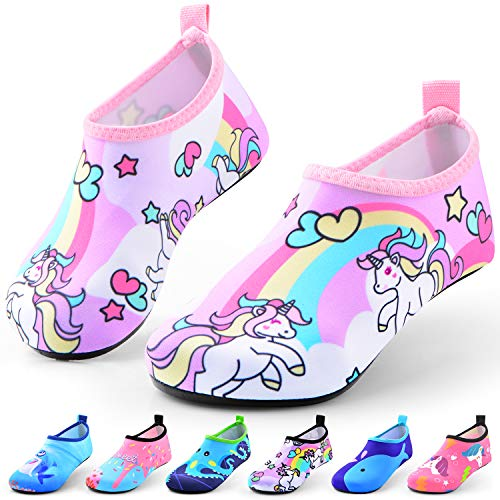 Sunnywoo Water Shoes for Kids Girls Boys,Toddler Kids Swim Water Shoes...