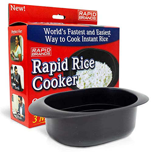 Rapid Rice Cooker | Microwave Rice Blends in Less Than 3 Minutes | Perfect...