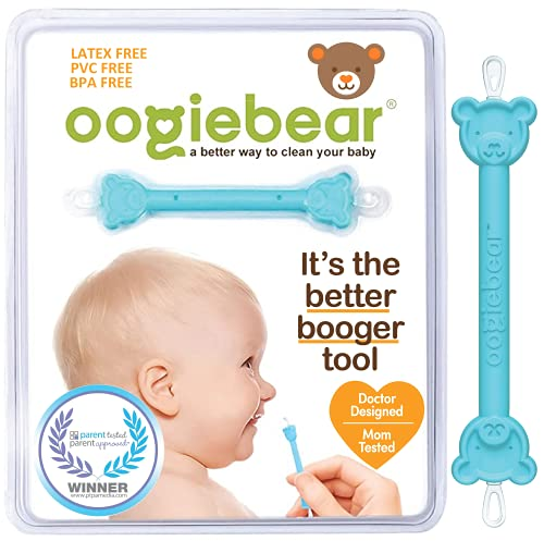 oogiebear - Patented Nose and Ear Gadget. Safe, Easy Nasal Booger and Ear...