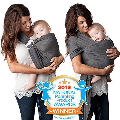 Kids N' Such 4-in-1 Baby Wrap Carrier & Baby Sling Carrier for Infant,...