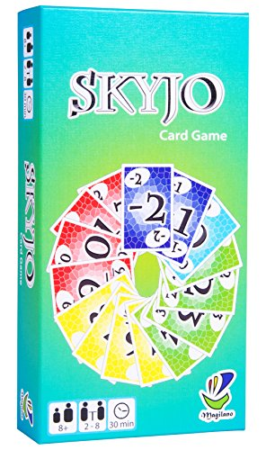 SKYJO by Magilano - The entertaining card game for kids and adults. The...