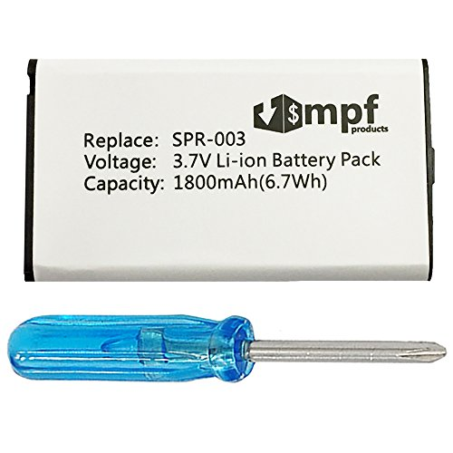 MPF Products 1800mAh SPR-003 SPR003 SPR-A-BPAA-CO Battery Replacement...