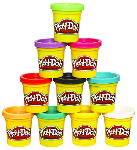 Play-Doh Modeling Compound 10-Pack Case of Colors, Non-Toxic, Assorted, 2...