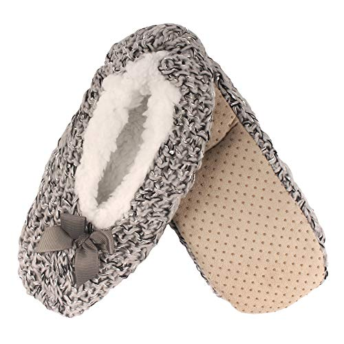 Adult Women's Super Soft Warm Cozy Fuzzy Furry Slippers Non-Slip Lined...