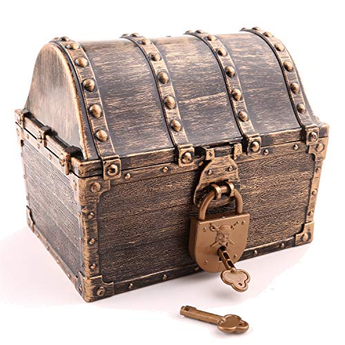 Lingway Toys Kids Pirate Treasure Chest Large Size Teacher's Favorite...