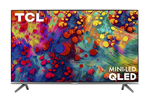 TCL 55-inch 6-Series 4K UHD Dolby Vision HDR QLED Roku Smart TV - 55R635,...