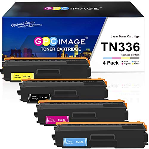 GPC Image Compatible Toner Cartridge Replacement for Brother TN336 TN-336...