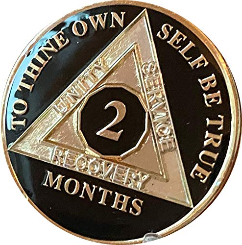 Ranger Industries 2 Month AA Medallion Glossy Classic Black Tri-Plate 60...