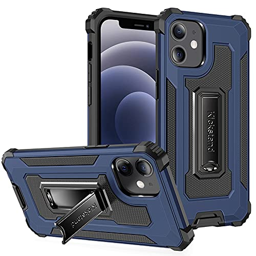 PERFECTSIGHT Military-Grade Case Compatible for iPhone 12/12 Pro, Heavy...
