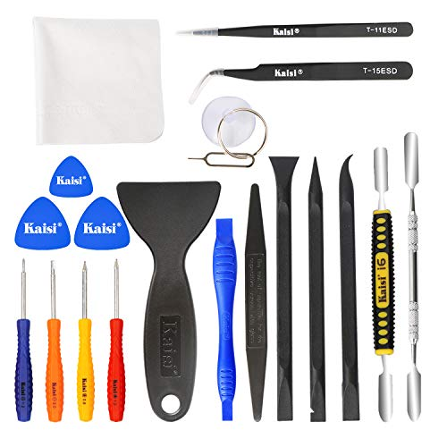 Kaisi Professional Electronics Opening Pry Tool Repair Kit with Metal...