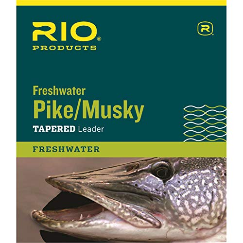 Rio Fishing Products Pike/Musky II 7.5' 20LB Class 15LB KNOTTABLE Wire