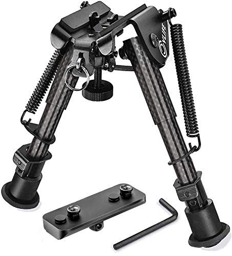 CVLIFE Carbon Fiber Bipod with Keymod Adapter 6-9 Inches