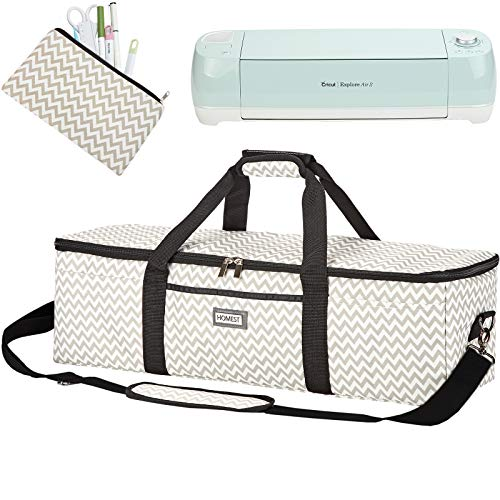 HOMEST Lightweight Carrying Case Compatible with Cricut Explore Air 2,...