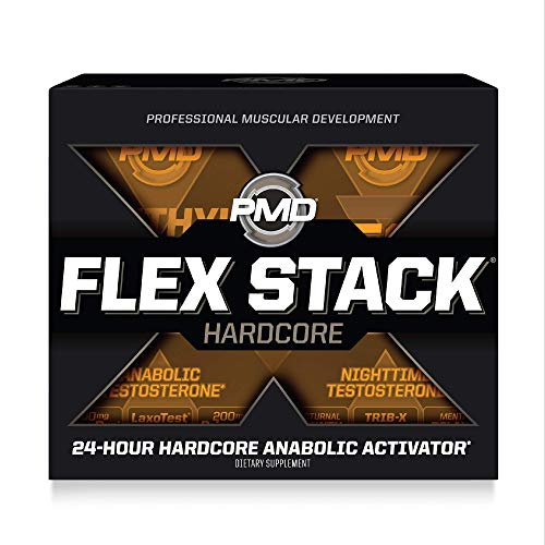 PMD Sports Flex Stack Hardcore 24-Hour Healthy Testosterone Stack For...